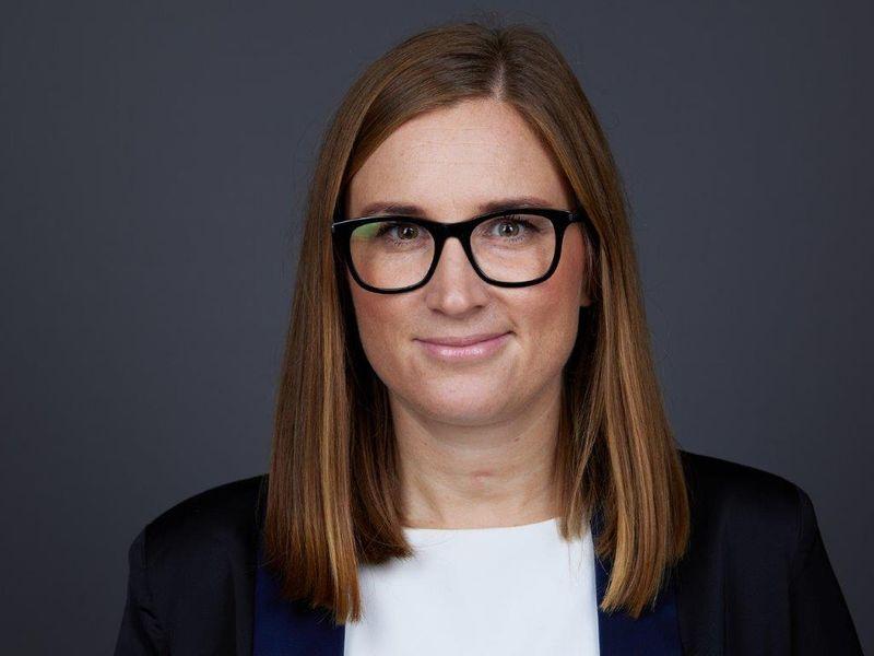 Helene Larsson, tillträdande HR-direktör