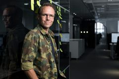 Qred CEO Emil Sunvisson at Qred Stockholm offices