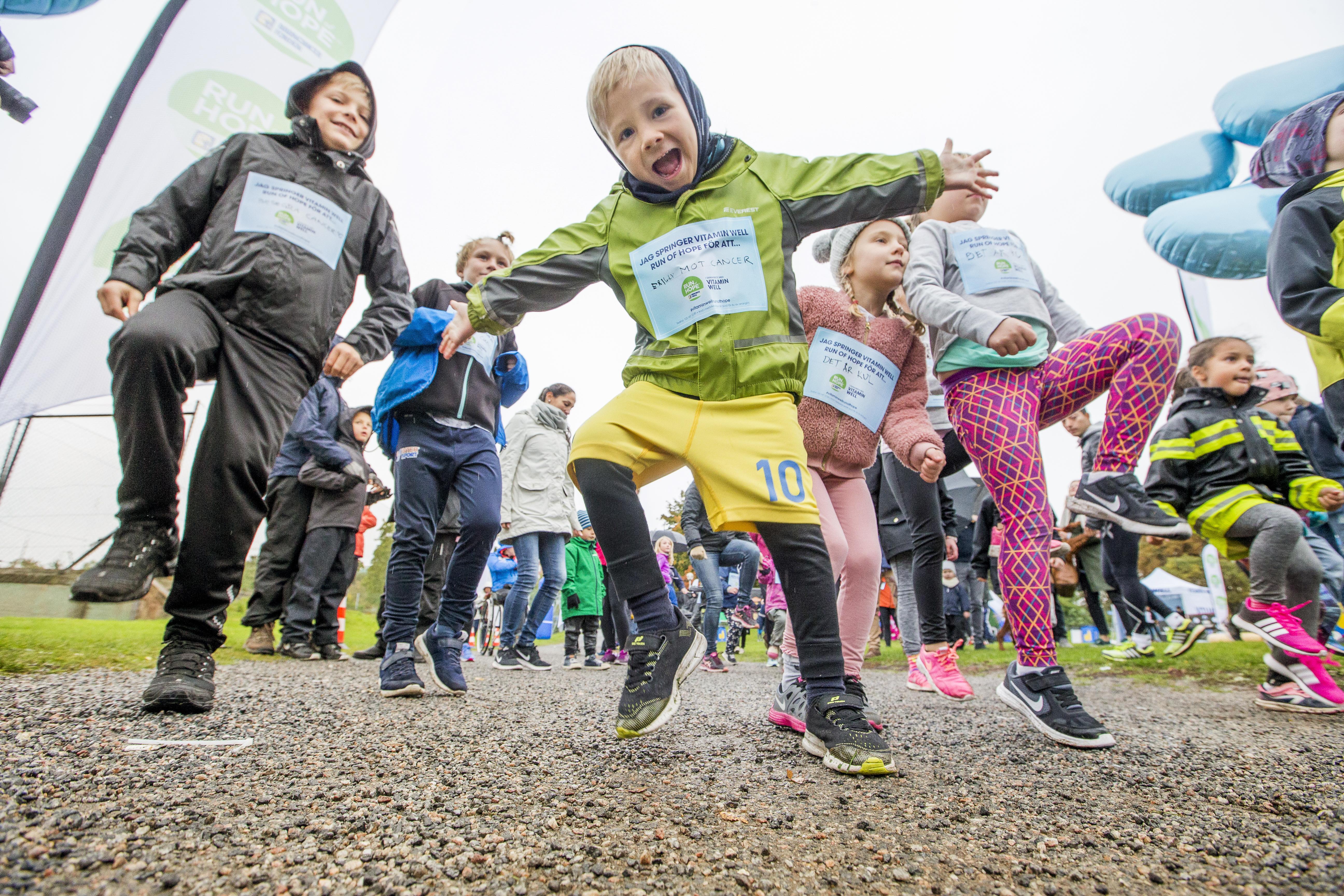 Årets omgångar av Run of Hope och Walk of Hope samlade totalt in 2,3 miljoner kronor.