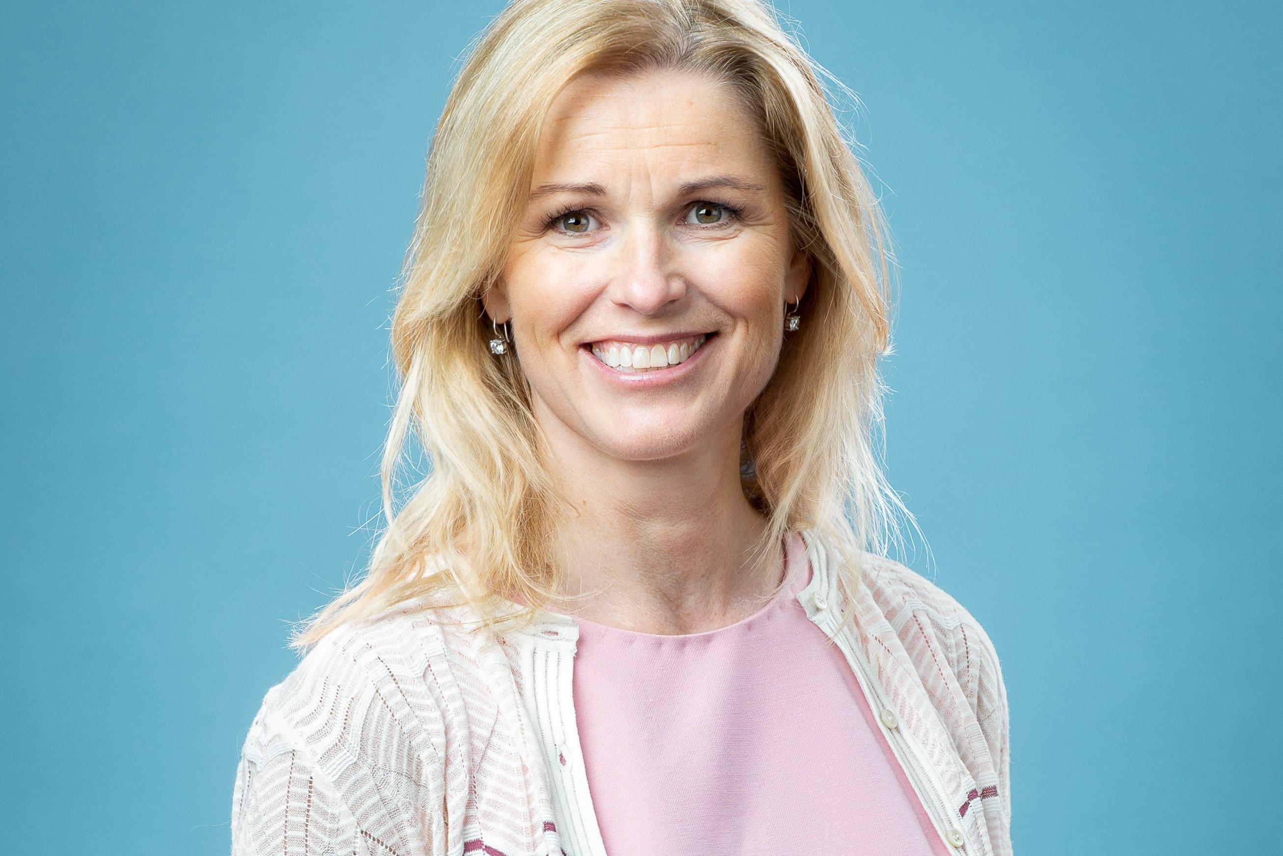 Yvonne Nordlind är ny chef för Barncancerfondens verksamhet som ger råd och stöd till familjer som drabbats av barncancer. Foto: Magnus Glans