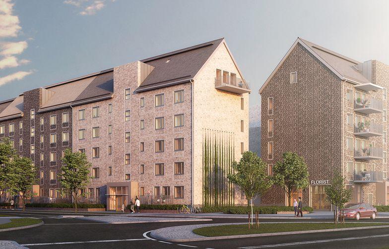 AF Bygg Göteborg ska bygga 143 nya bostäder i stadsdelen Backa i Göteborg på uppdrag av Riksbyggen. Ill:Wec360°