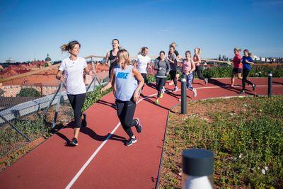 På lördag är det dags för löploppet Run of Hope, som samlar in pengar till barncancerforskningen. Foto: Johanna Lundberg