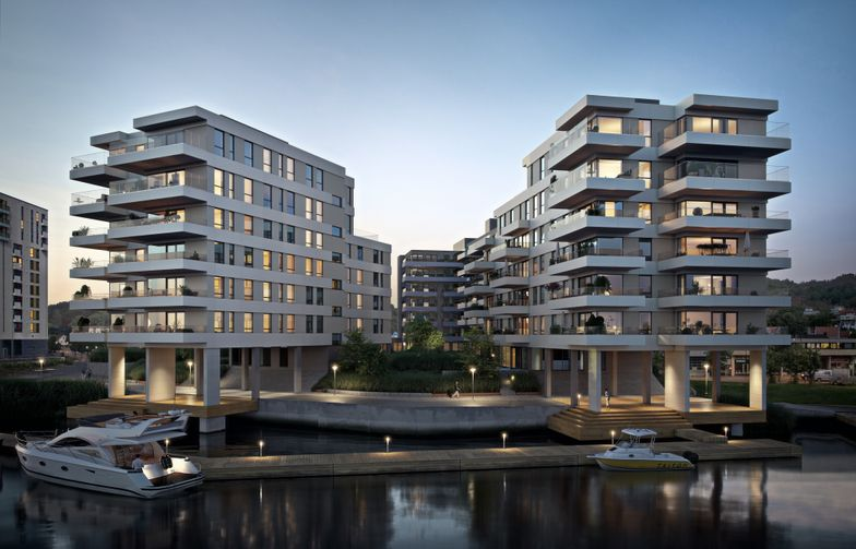 Strøm Gundersen Vestfold, där AF Gruppen är huvudägare, har fått i uppdrag att uppföra byggetapp 2 i lägenhetsprojektet Nye Kilen Brygge i Sandefjord. (ill. EVE)