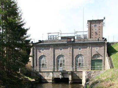 Bild: Svartåfors vattenkraftverk