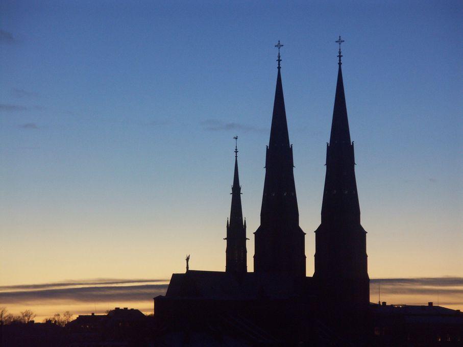 Uppsala domkyrka. Foto: Jan Sandred