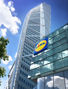 Lidl, Turning Torso Gallery