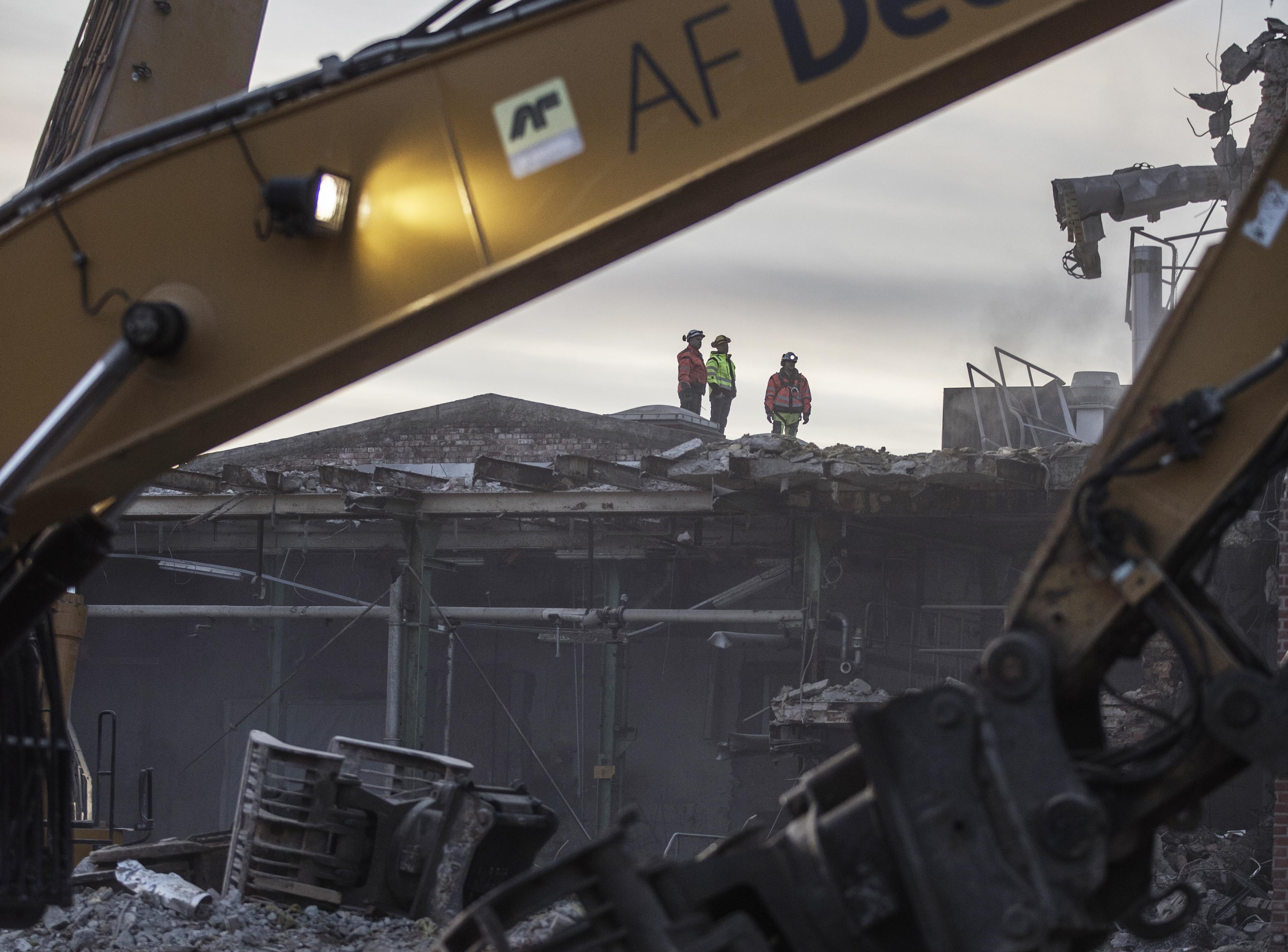 AF Miljö Decom vid Peterson fabriker i Moss, Norge. Foto: AF Gruppen / Thomas Haugersveen