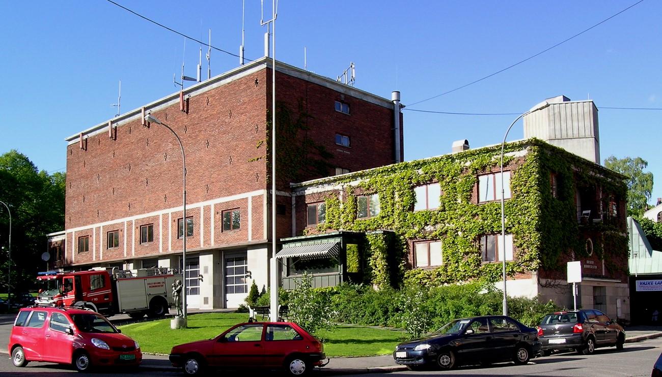 Briskeby brandstation i Oslo