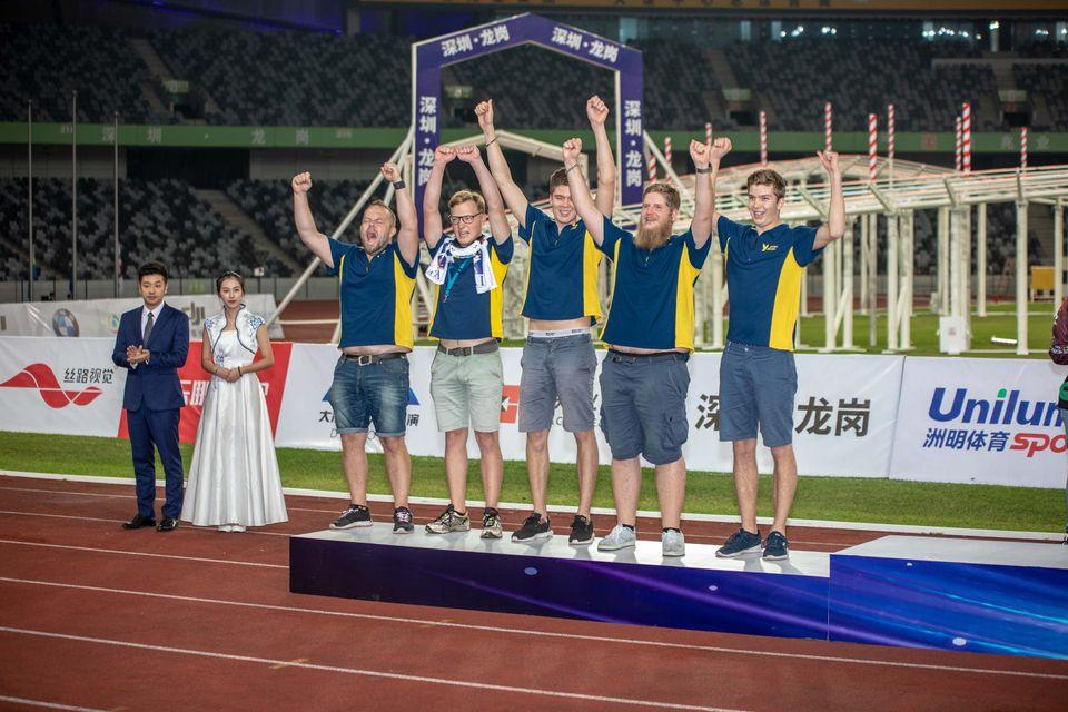 Lagsilver blev det för Sverige vid VM 2018.