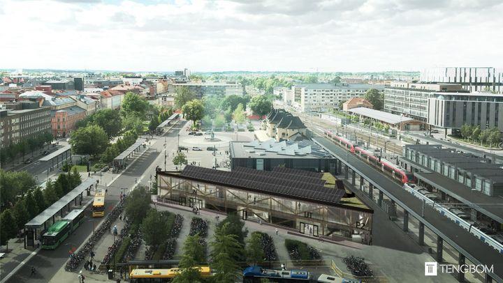 Inbjudan Till Pressvisning Av Nya Cykelparkeringshuset I Uppsala Uppsala Kommun