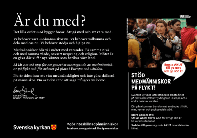 Eva brunne ny biskop i stockholms stift