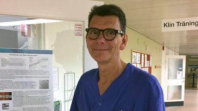 Torben Ek, överläkare, är en av tre personer som tilldelas årets Olle Björks stipendium. Foto: Eva Nordin