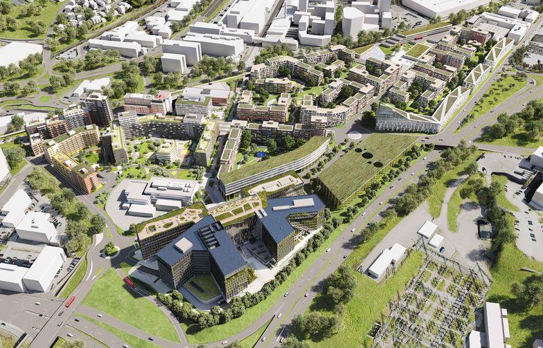 Construction City, ett näringslivskluster som ska samla bygg-, anläggnings- och fastighetsbranschen i Norge. Bild: OBOS