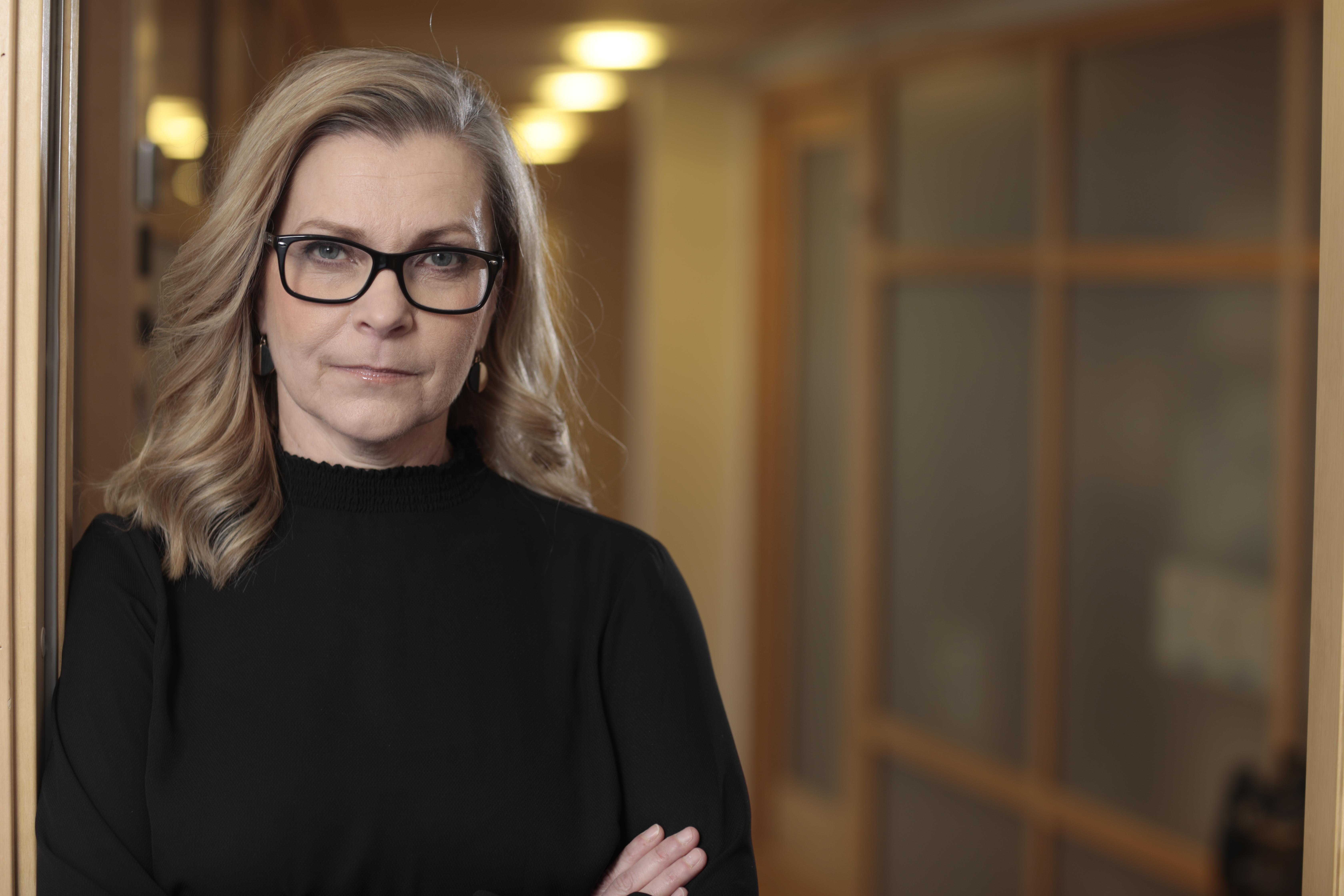 Polisförbundets ordförande Lena Nitz