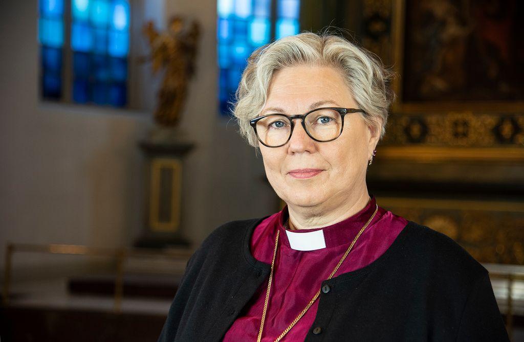 – Församlingarna behöver hjälpas åt och dela på resurserna, för att kvaliteten på Svenska kyrkans verksamhet ska kunna behållas i framtiden, säger Eva Nordung Byström, biskop och ordförande i stiftsstyrelsen.