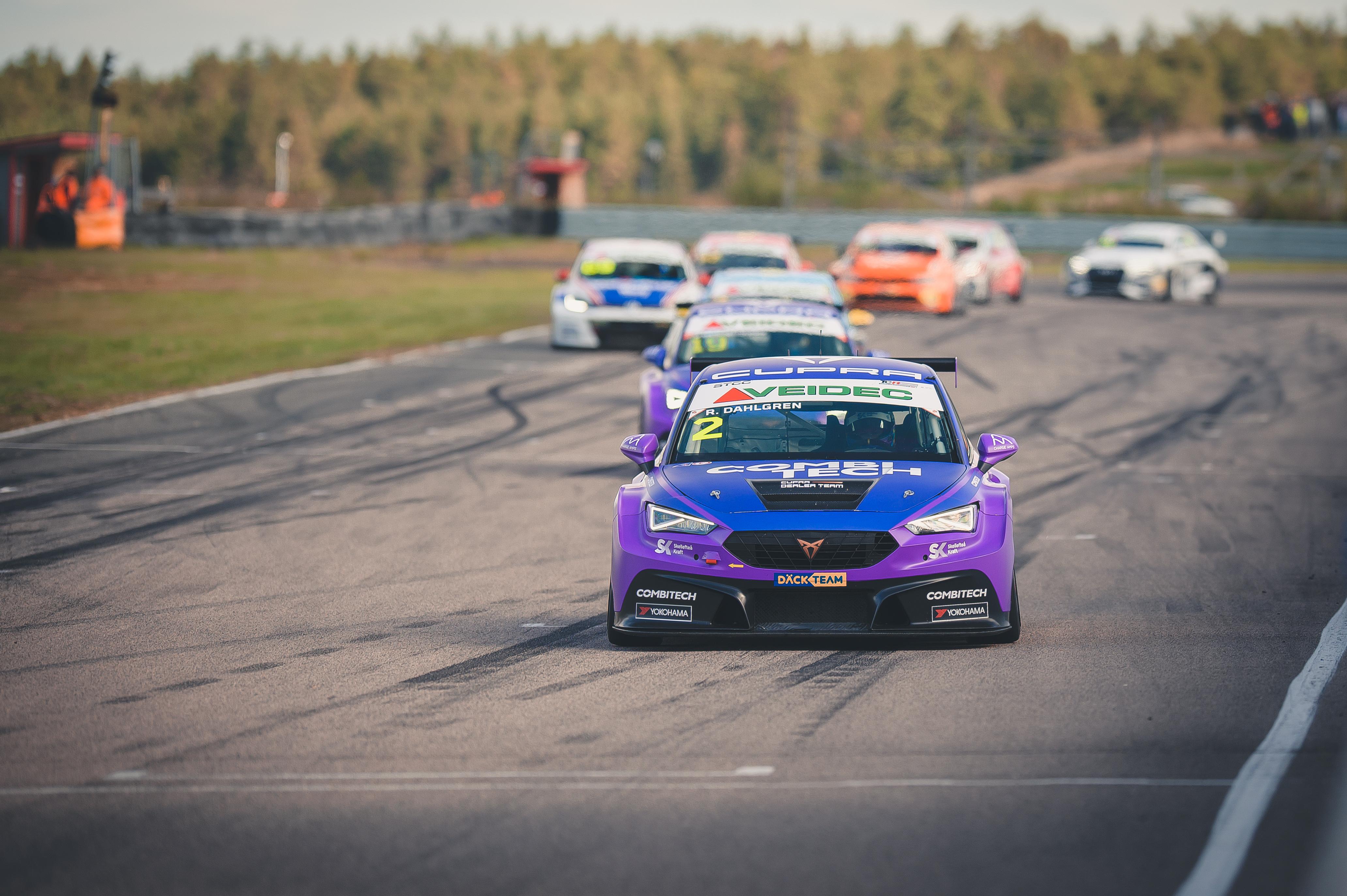 CUPRA Dealer Team - PWR Racing utökar STCC-ledning med tangerat rekord