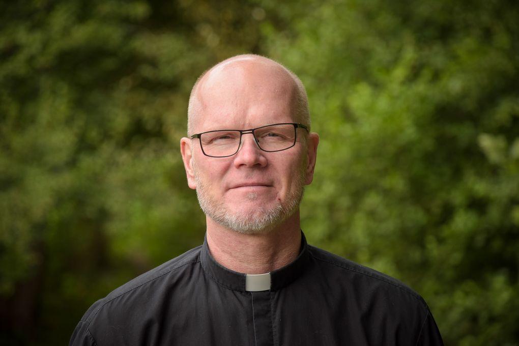 Kimmo Kling, präst och nationell samordnare för Jourhavande präst. Foto: Malva Kling/Ikon.