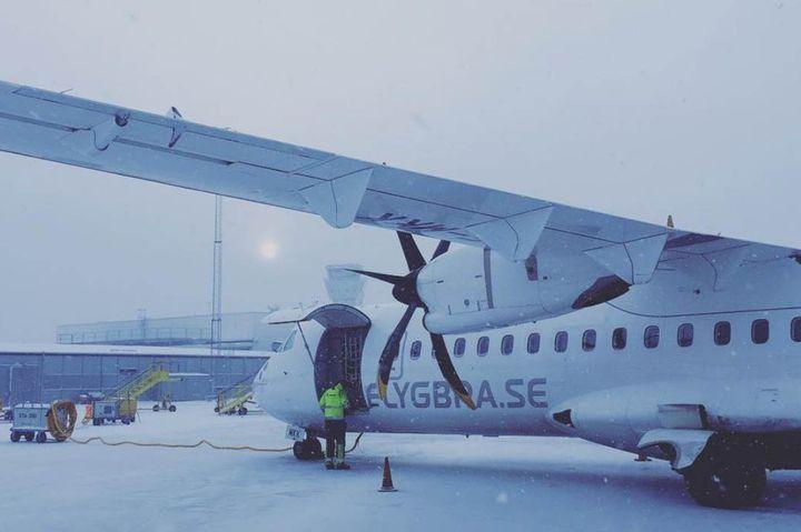 halmstad till stockholm flyg