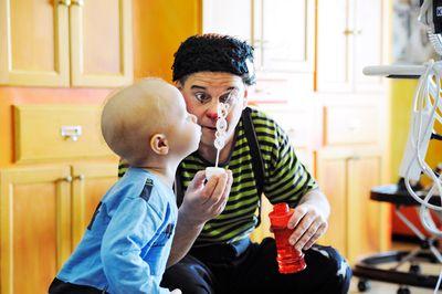 Under barncancermånaden i september uppmärksammas de barn och deras familjer som kämpar mot cancer. Fotograf: Charlotte Gawell