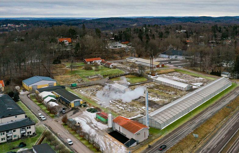 På den gamla Växthustomten i Floda utanför Göteborg planeras för 200 till 300 nya bostäder. Inspirationsbild: Dreem Arkitekter.