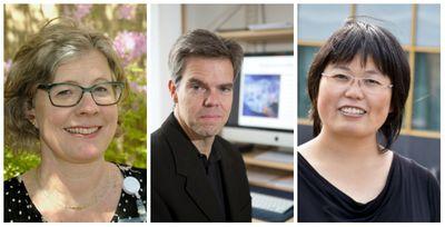 Ingrid Tonning Olsson, Magnus Essand och Hong Qian är tre av forskarna som tar del av Barncancerfondens forskningsanslag.