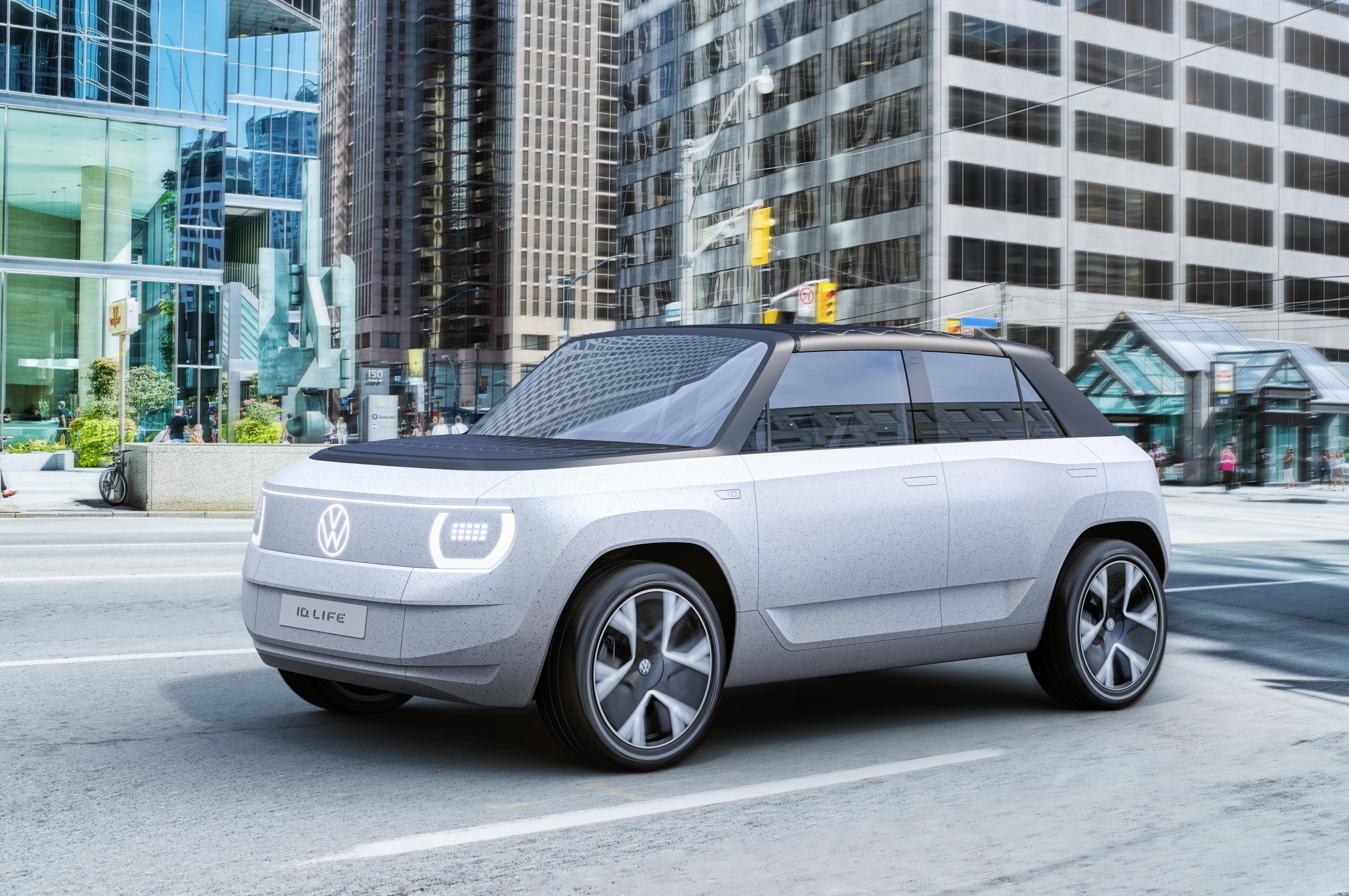 ID. LIFE: Volkswagen visar upp elbilskoncept för småbilssegmentet