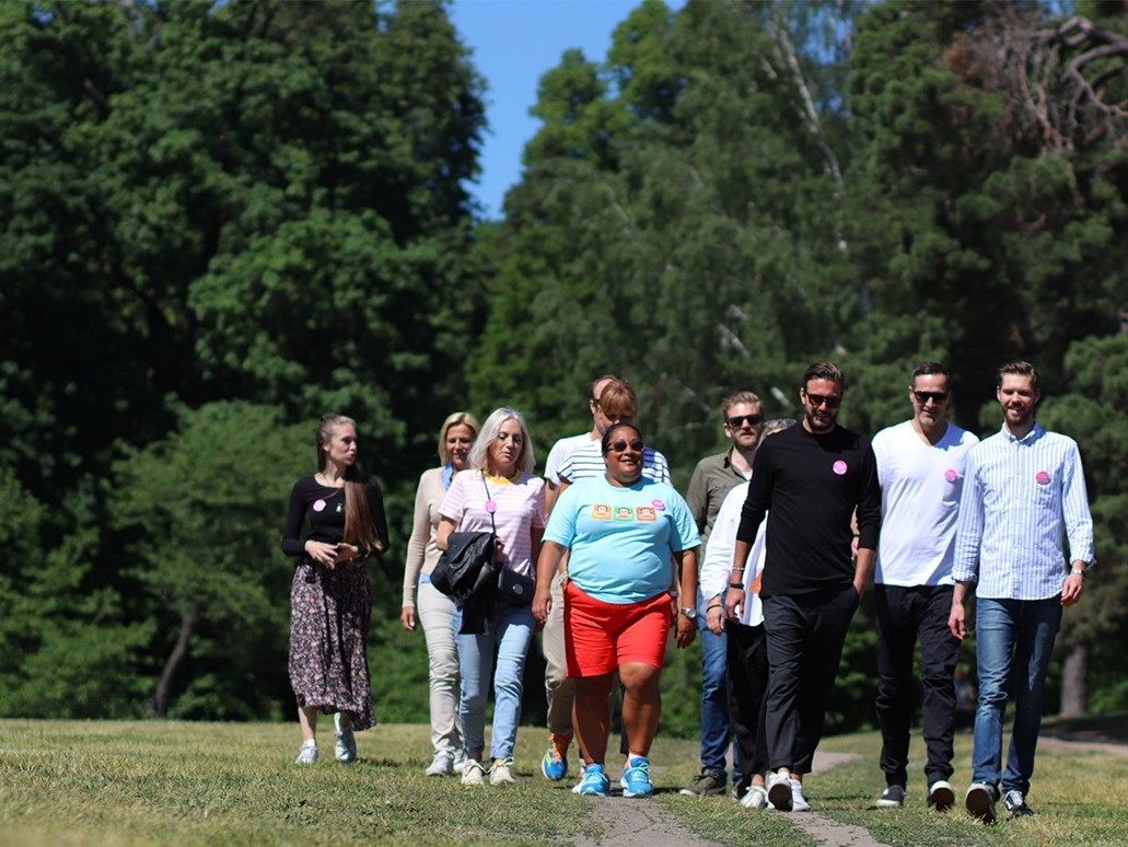 Barncancerfondens promenadlopp Walk of Hope inleder barncancermånaden i september.