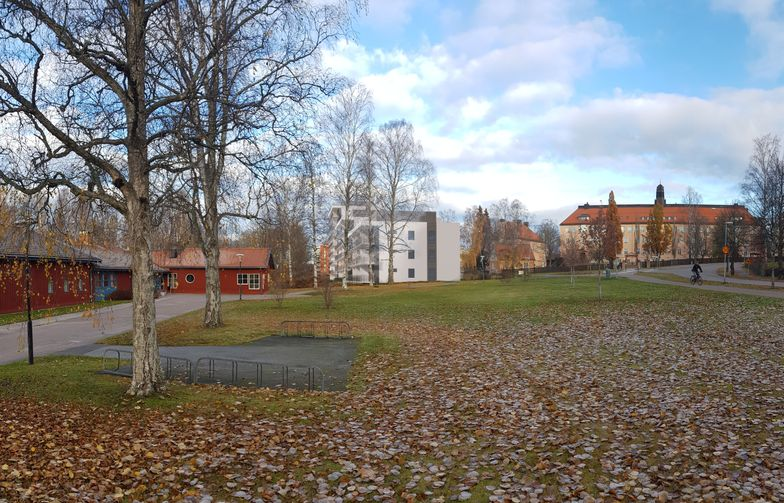 Kvarteret Vitsippan i centrala Falun.Illustration: Mondo Arkitekter