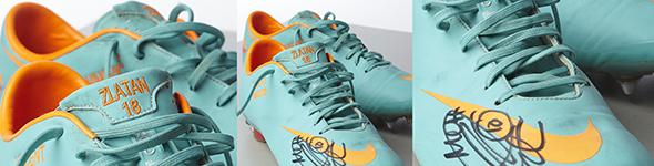 Utropspris på Zlatans skor   Idrottens Affärer