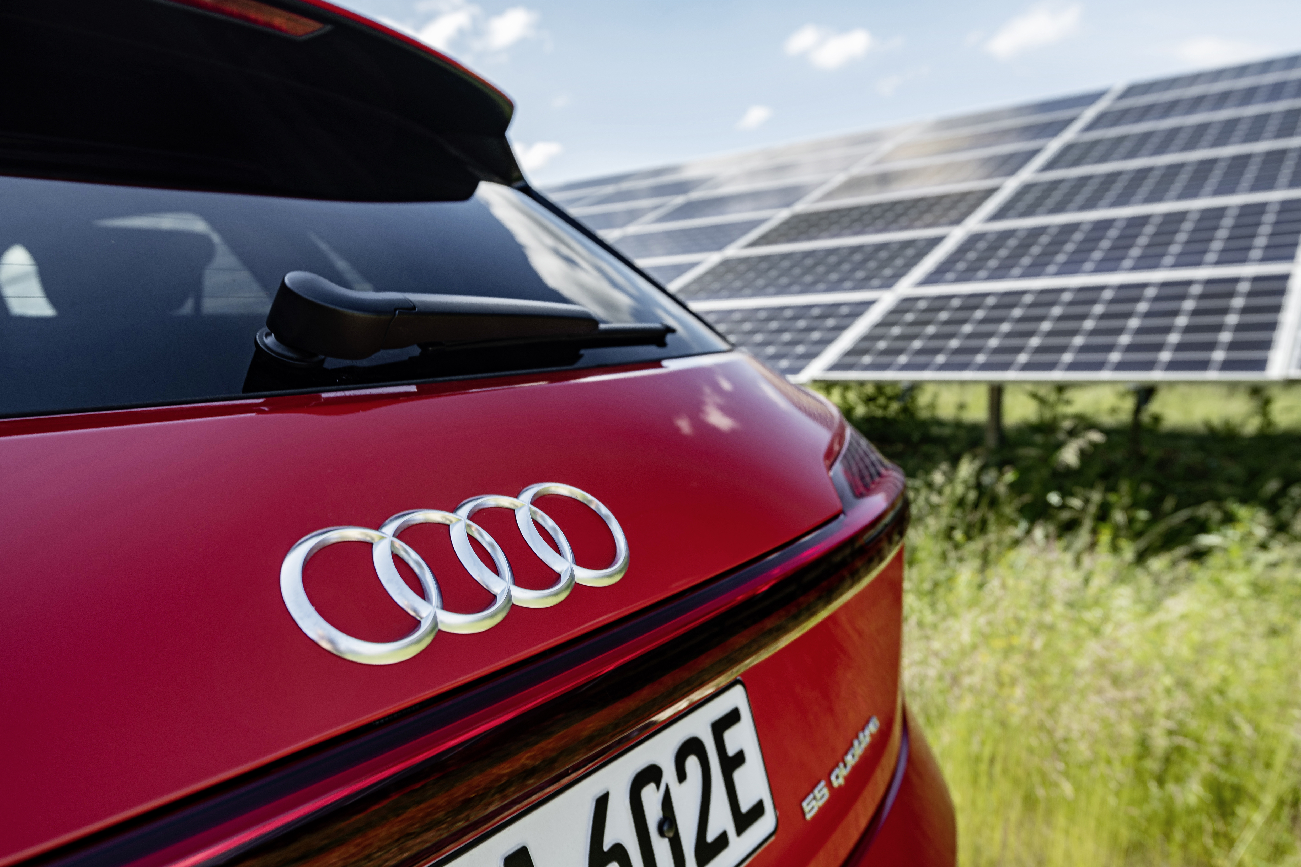 Audi på väg mot klimatneutral mobilitet