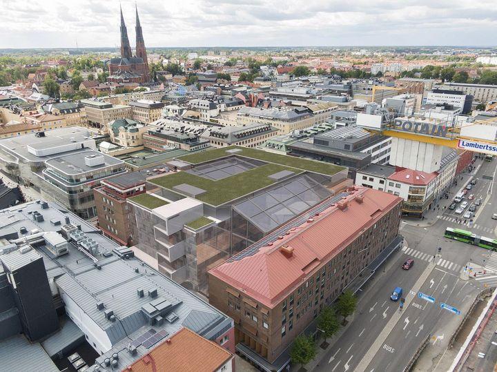 Ny Detaljplan For Affarer Kontor Och Stadsliv Uppsala Kommun