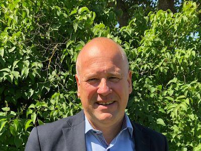 Bild: Niclas Petersen, ny ekonomi- och finansdirektör på Tekniska verken i Linköping.