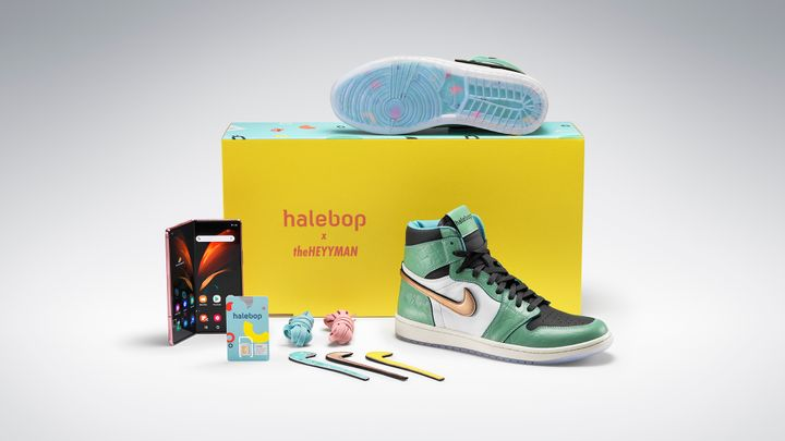 Limited edition sneakers – theheyyman X halebop