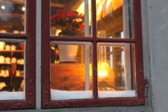 Krukmakaren i juletid. The Pottery at Christmas time. Foto: Maria Johansson/Skansen