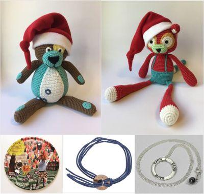 I Barncancerfondens julbutik hittar du presenter och julkort inför högtiden.