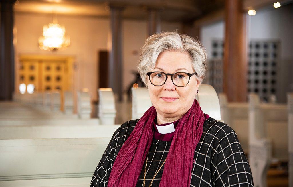 Eva Nordung Byström, biskop i Härnösands stift. Foto: Kerstin Stickler/Härnösands stift