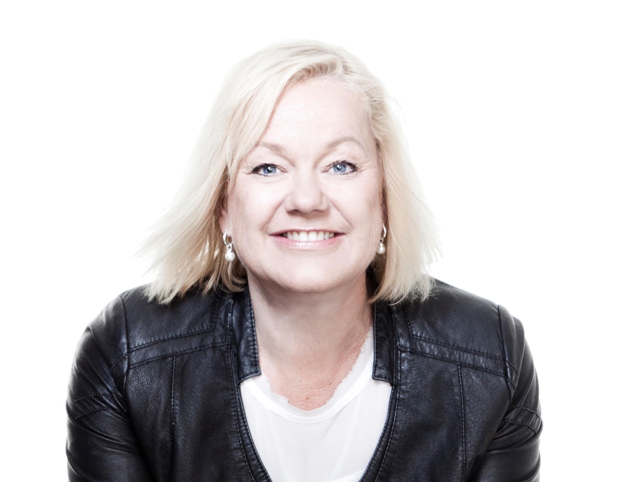 Anne Grefberg, tillförordnad generalsekreterare på Barncancerfonden. Foto: Magnus Svensson