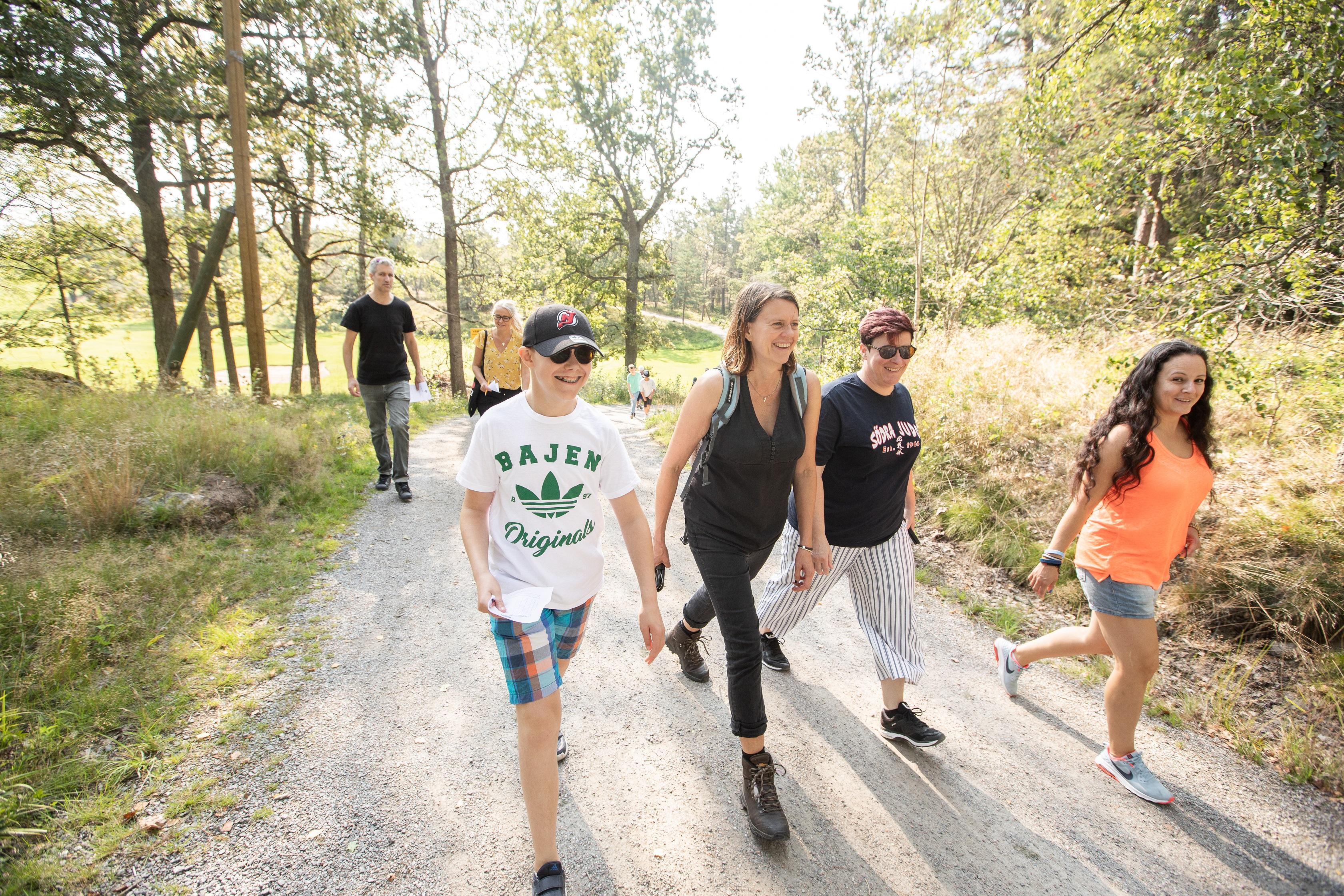 Bagis Walk of Hope i Stockholm. En av de drygt 100 Walk of Hope-promenaderna som arrangerades under september. Foto: Magnus Glans