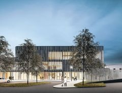 The new psychiatric clinic at Tampere University Hospital, a building to support patients' healing process and the staff's work environment – a beneficial environment for the good of all. Photo by C.F Møller Architects & Aihio Arkkitehdit Oy