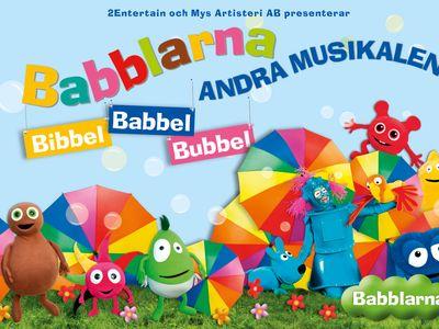 """Babblarna Andra Musikalen - Bibbel Babbel Bubbel"""