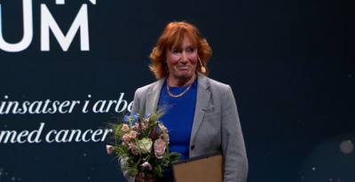 Catharina Kumlien, tidigare chefssjuksköterska, är en av tre personer som tilldelas årets Olle Björks stipendium.