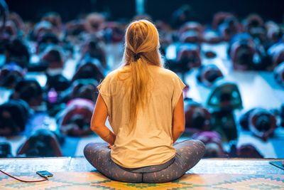 Rachel Bråthén (Yoga Girl) Foto: Ben Kane