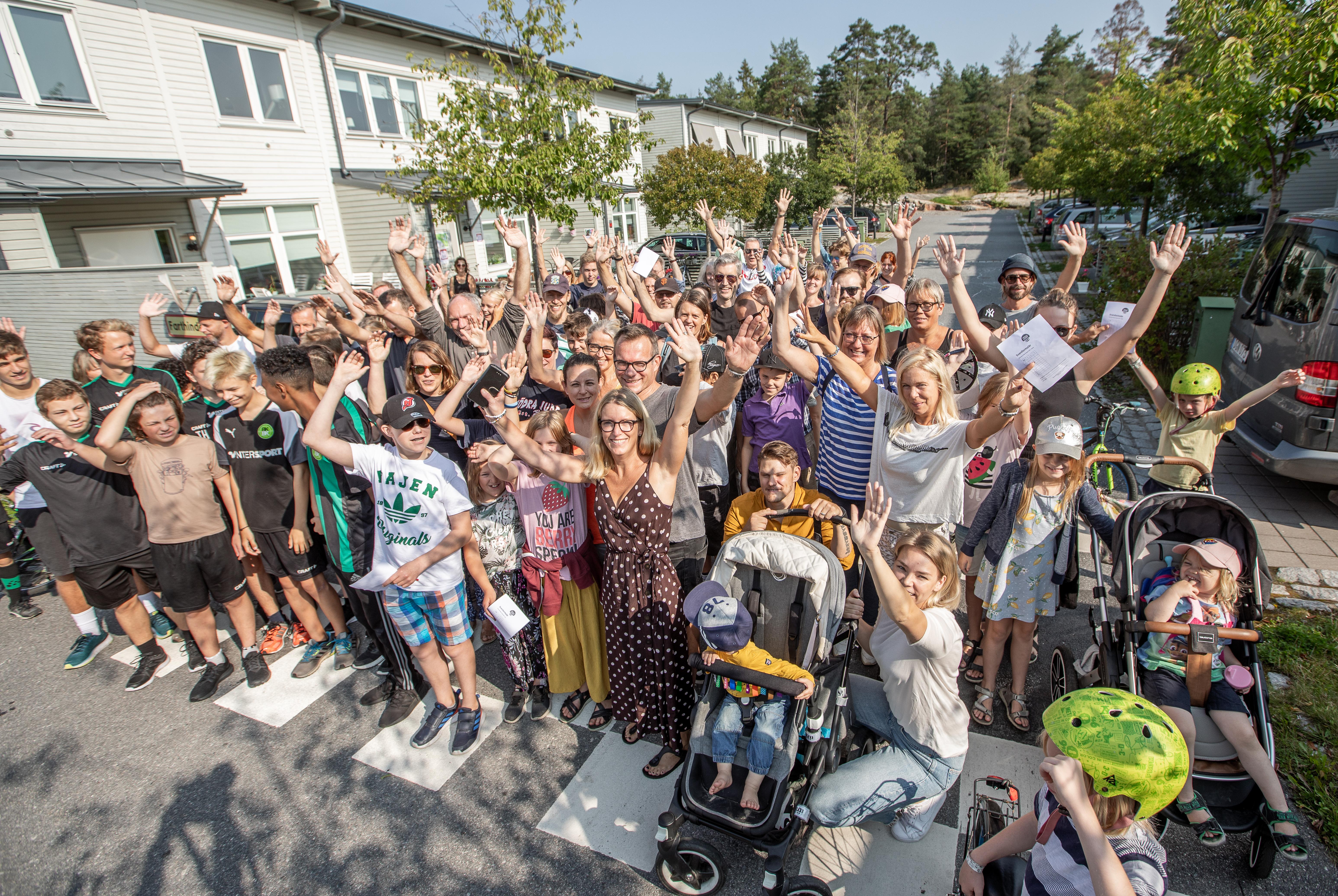 Under Barncancermånaden arrangeras flertalet aktiviteter, till exempel promenadeventet Walk of Hope. Foto: Magnus Glans