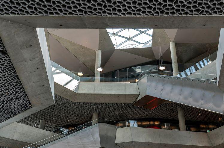 AF Gruppen har ansvarat för inredning och invändiga arbeten i det nya Deichman-biblioteket i Oslo.