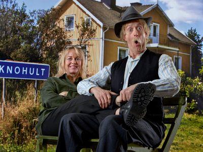 Åsa-Nisse på Vallarna sommaren 2020. Foto: Bo Håkansson