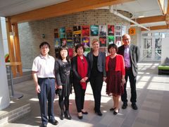 Visit to Ideon by BNU-BUCM May 29th Names: Zhenghua Yan, Yan Liu, Yaling Jin, Mia Rolf, Guilian Ge, Xiaolong Fan.